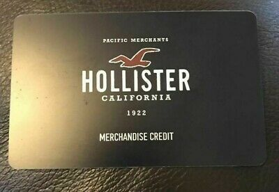 Hollister Merchandise Credit / Gift Card $133 Asking $105