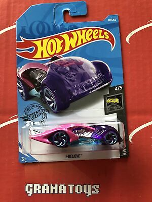 I-Believe #141 Pink Purple 2019 Hot Wheels Case L