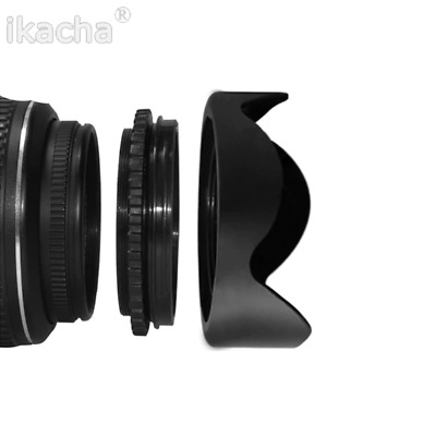 82mm Digital Tulip Flower Lens Hood for Select Canon, Nikon, Olympus, Pentax, So