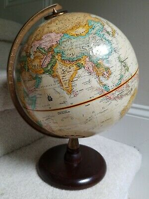 "9"" Replogle World Globe Antique Finish"