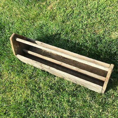 Antique Carpenter Farm Tool Box Caddy