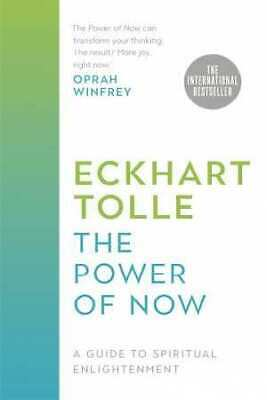 *New :The Power of Now (Hard Cover) By Eckhart Tolle