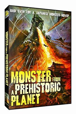Monster From A Prehistoric Planet - DVD - Multiple Formats Color Dubbed Full NEW