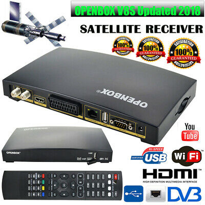 OPENBOX V8S Updated DIGITAL HD FTA TV Satellite Receiver Box FULL HD Skybox WebT