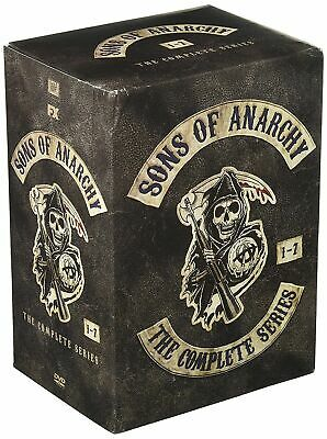 Sons of Anarchy:The Complete Series Seasons 1-7 (DVD, 2015, 30-Disc box Set)HOT