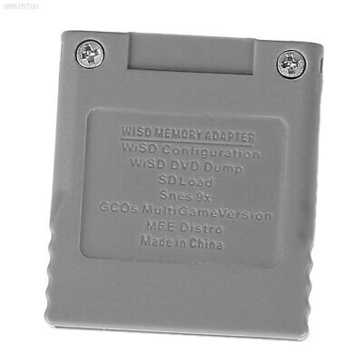 FFE4 SD Flash Memory Card Stick Converter For Nintendo Wii NGC GameCube Console