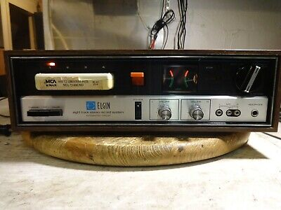 Elgin 8 Track Player/Recorder Rm-4372 Serviced