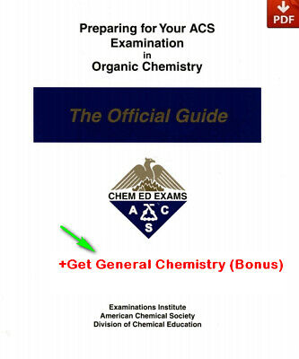 PDF Preparing for Your ACS Examination in Organic Chemistry + General Chemistry