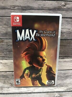 Max: The Curse of Brotherhood (Nintendo Switch, 2018)
