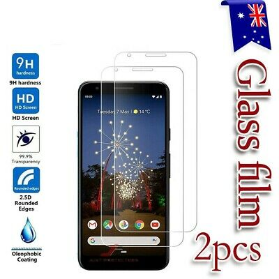 2X Google Pixel 3A XL 3AXL 3 XL 3XL Tempered Glass Screen Protector Film Guard