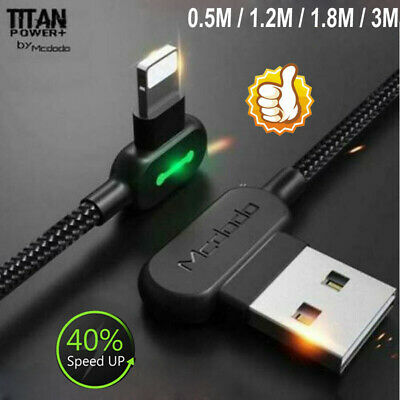 TITAN POWER+ Smart Cable 3.0  Lightning Charging Cable For iPhone X 8 7 6s Plus