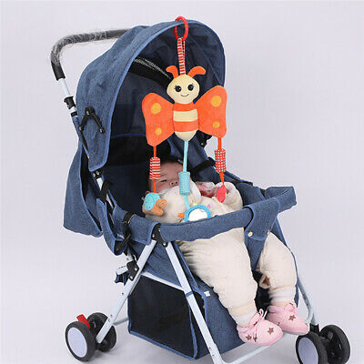 New Cartoon Toys Baby Travel Play Arch Activity Bar For Stroller Pram Crib Bed T
