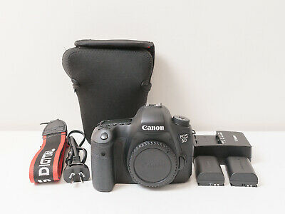 Canon 6D (WG) 20 MP Camera Body Only ~Excellent Condition ~$705 with code