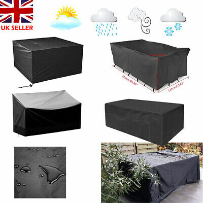Waterproof Garden BBQ Patio Furniture Cover Table Seat Outdoor Rattan Covers