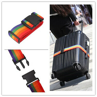Adjustable Lock Safe Belt Strap For Travel Luggage Suitcase Personalise Baggage