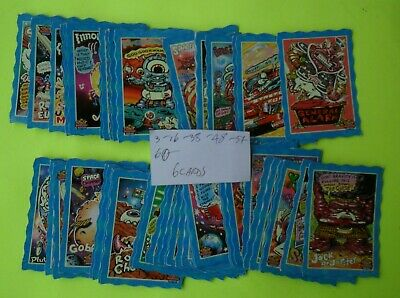 Oddbodz Incomplete Card Set Missing 6 Cards In Good To Very Good Condition