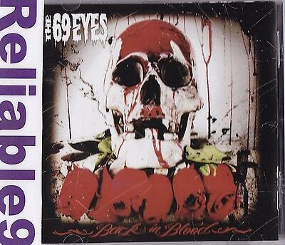 69 Eyes - Back in blood CD 11 tracks Brand new not sealed - 2009 The End Finland