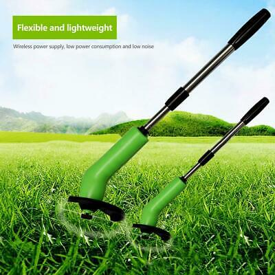 Cordless Grass Trimmer Mower Weed Lawn Cutting Garden Leaves-Yard Ed C5D7