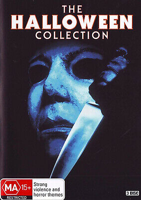 The Halloween Collection Box Set Complete Series DVD NEW SEALED Region 4