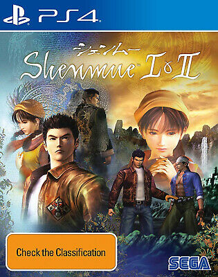 Shenmue I & II 1 and 2 PS4 Playstation 4 NEW SEALED FAST FREE SHIPPING