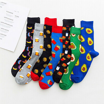 NEW Men Women Harajuku Food fruit Creative Sock Novelty Funny Socks Sox 29 Color