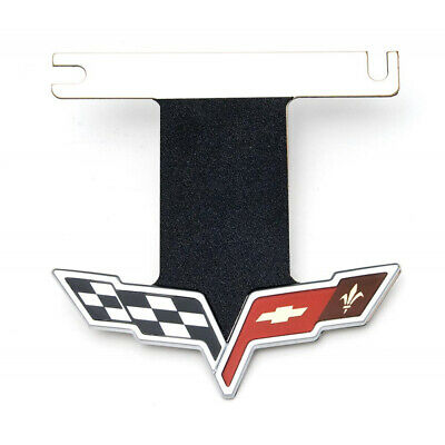 Corvette Exhaust Enhancer Plate, Stainless Steel, For Cars With NPP Exhaust,