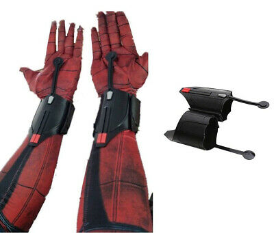2pcs Spider-Man Homecoming Spiderman Web Shooter Cosplay Props Decor Accessories