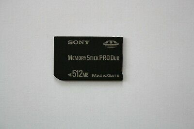 Sony 512MB Memory Stick Card Pro Duo PSP Magic Gate. FULLY WORKING