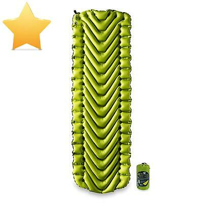 Klymit Static V2 Sleeping Pad, Ultralight, (12% Lighter), Great For Camping, Hik