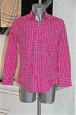 Luxurious Shirt Pink Thierry Mugler Double Twisted Yarn Size 39 (S) Mint