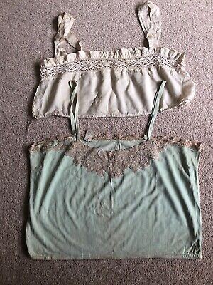 2 X Items Of Ladies Vintage Lingerie Underwear (1- Scotex - British Celanese Ltd