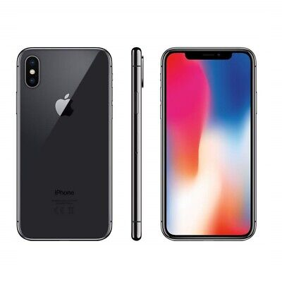 Iphone X Ricondizionato 64Gb Grado A Nero Silver Originale Apple Rigenerato