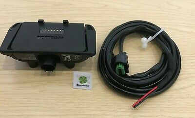 NEW official GENUINE TomTom Rider (2013) bike mount with battery cable 4GD01