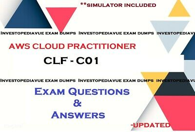CLF-C01 AWS Certified Cloud Practitioner Exam questions answers and Simulator