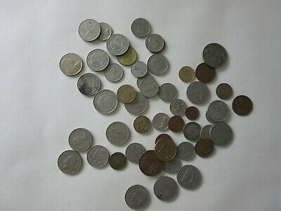 50 Mixed Old Coins