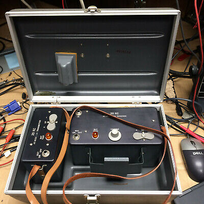AT-8121 L1A test set with L2B transmitter and L3A receiver test leads and case