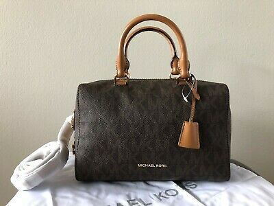 77c3859a0c6b NWT~MICHAEL KORS KIRBY MEDIUM Satchel Handbag~AUTHENTIC - $185.00 ...