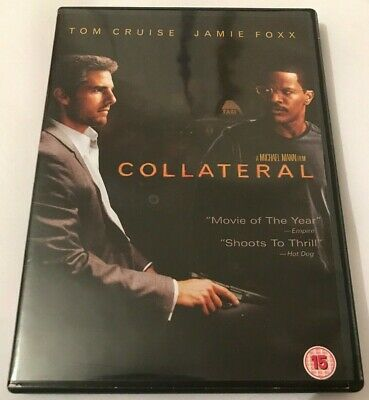 Collateral DVD (2005) 2 Disc Special Edition Tom Cruise