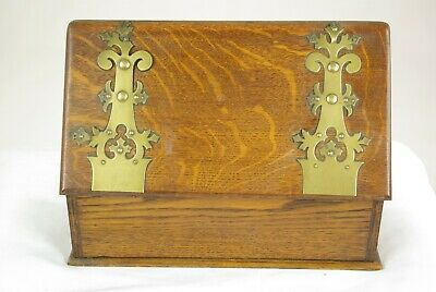Antique Letter Box, Stationary Box, Arts and Crafts box, Document Box, B1465