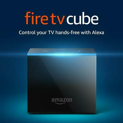 Fire TV Cube, hands-free with Alexa and 4K Ultra HD (includes all-new Alexa