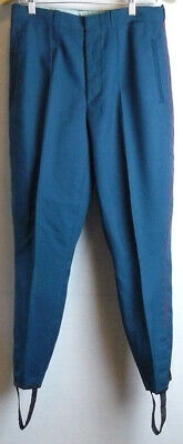 Parade Galliffet Vintage Soviet Army Officer Uniform Pants Galife Trousers USSR