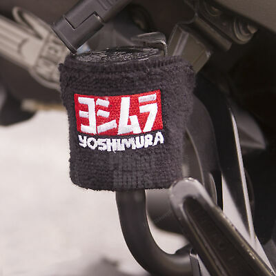 Black Yoshimura Logo 1x Reservoir Sock Small Motorcycle Cover Sweat Band