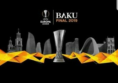 One Ticket Final Europa League Baku 2019 Arsenal-Chelsea