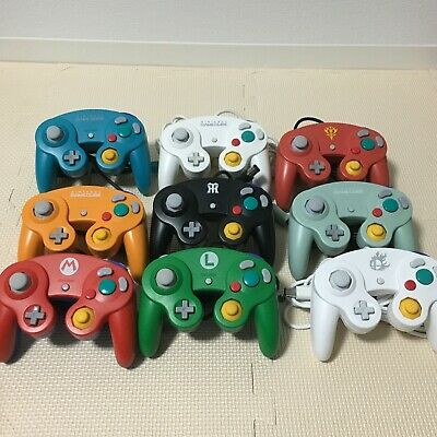 GameCube Controller Nintendo Official GC Switch Wii Tight Stick Japan Import F/S