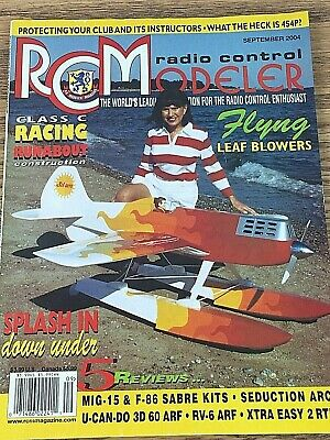 RADIO CONTROL MODELER (RCM) Build Plans and Articles in PDF: 1980's