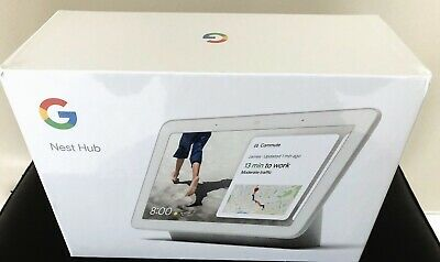 Brand New Google Home Hub Smart Speaker with Google Assistant - Chalk