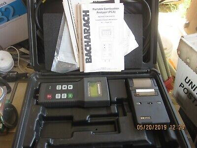 Bacharach PCA Portable Combustion Analyzer tester kit 24-7190