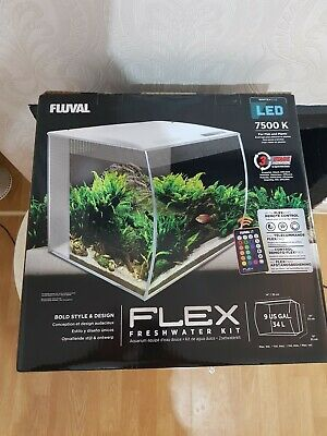 Reef 52 Fluval Aquarium With Sea Evo Kit Lights Marine Tank Led ZPkuXi
