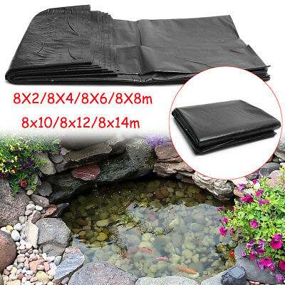 HDPE Fish Pond Liner 8*2/8*4/8*6/8*8/8*10/8*12/8*14m Impermeable Geomembrane