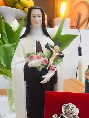 """St Therese of Lisieux,  Religious Figure Christianity Height 12.5"""" / 31cms"""